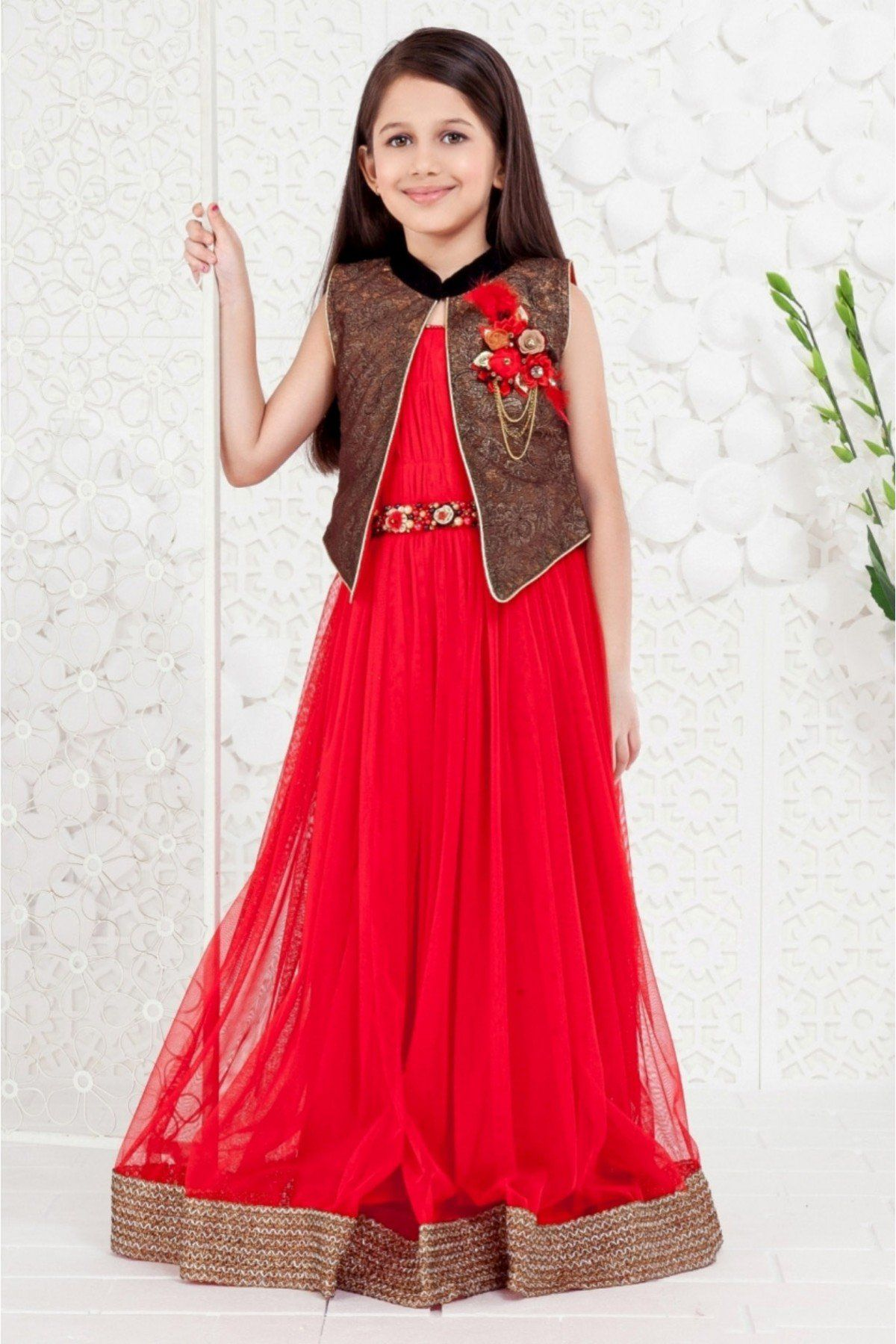 81bb63f0af17 On this new year eve gift your kids a designer gowns and Send your best  wishes on this auspicious occasion.