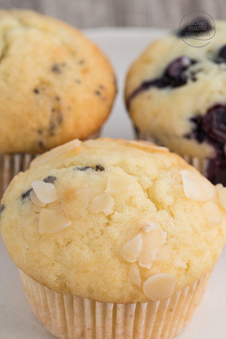 Muffins Grundrezept: Einfacher Muffinteig mit Tipps