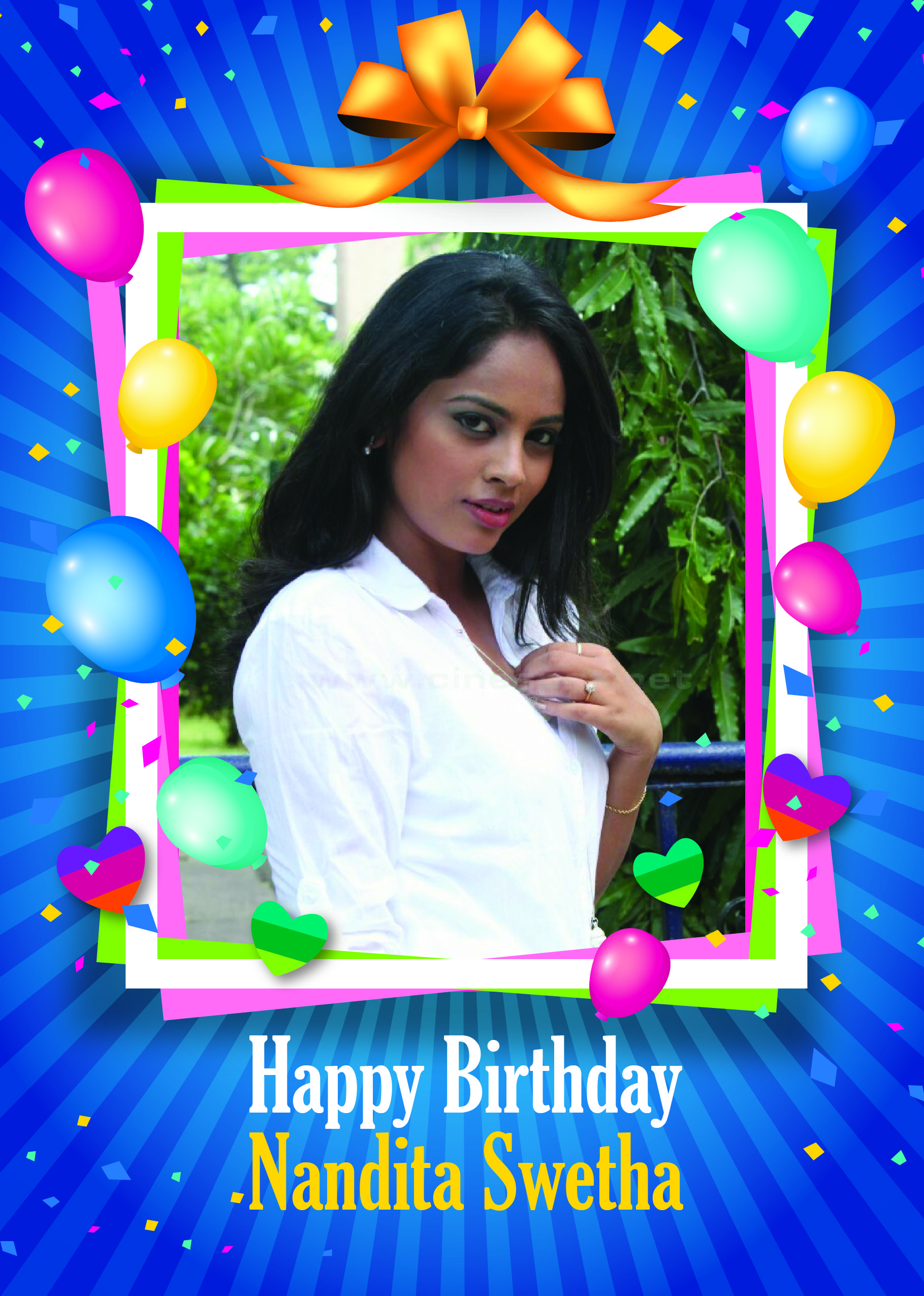 Wish You Many More Happy Returns Of The Day Nandita Swetha Best