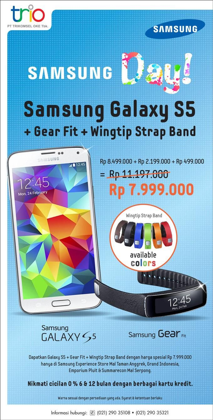 Oke Shop Promo Samsung Galaxy S5 OkeShop