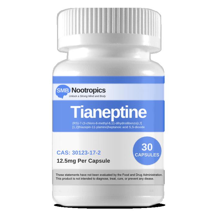 Tianeptine Capsules | 12 5mg | 30 Servings | Helpful | Food, Store