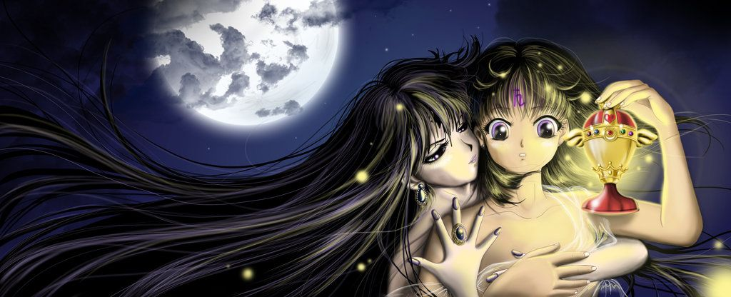 Mistress i Hotaru by Pillara.deviantart.com on @deviantART