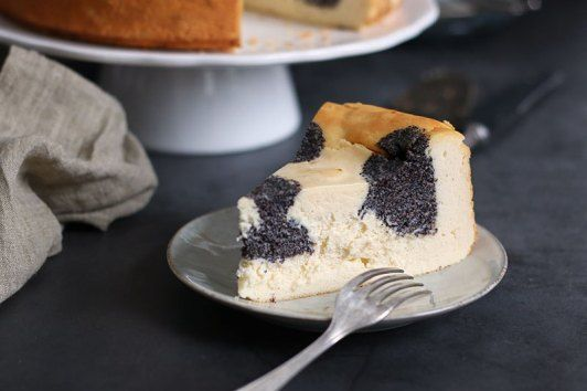 Poppy Seed (Polka Dot) Cheesecake | Bake to the roots