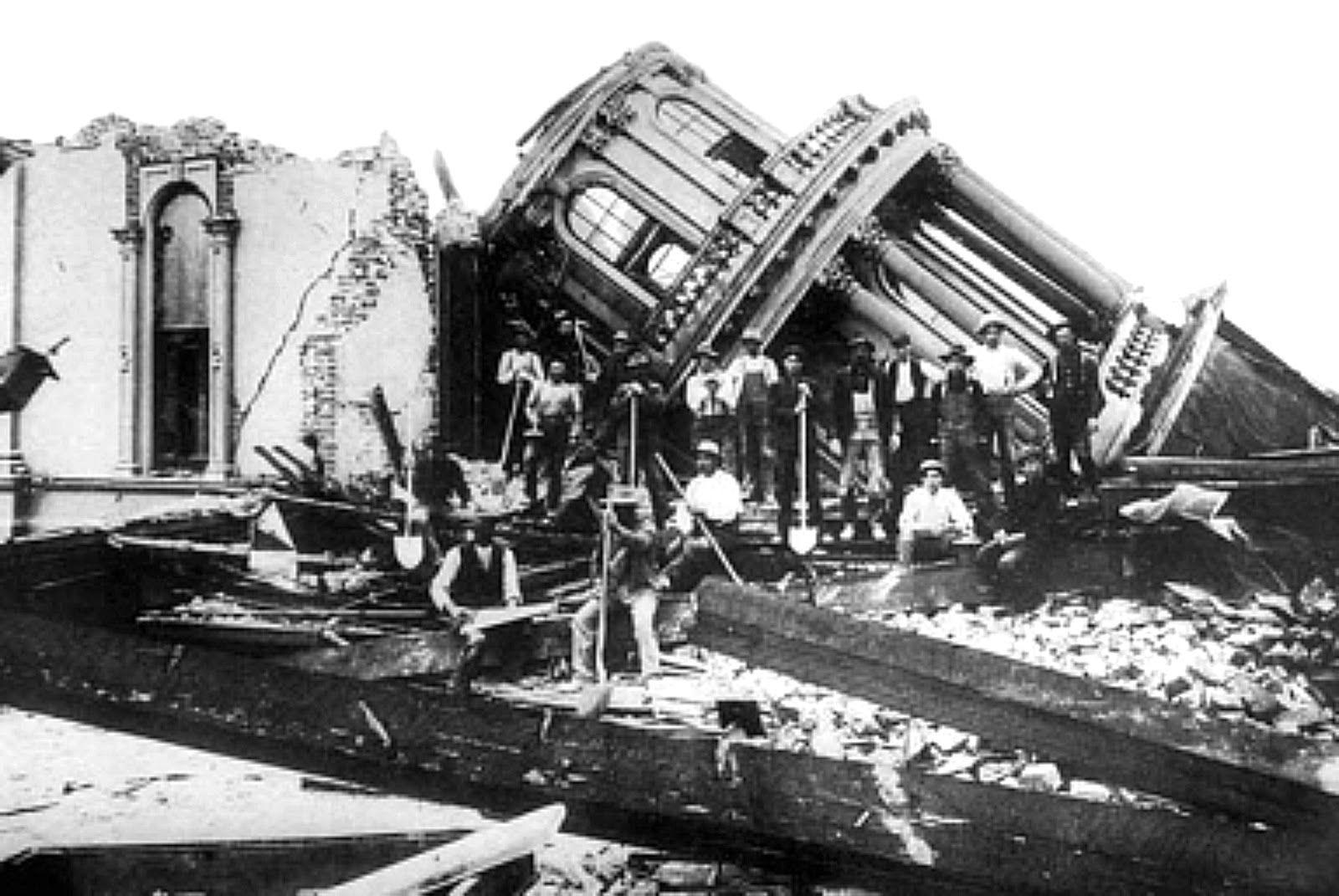 1906 San Francisco earthquake.