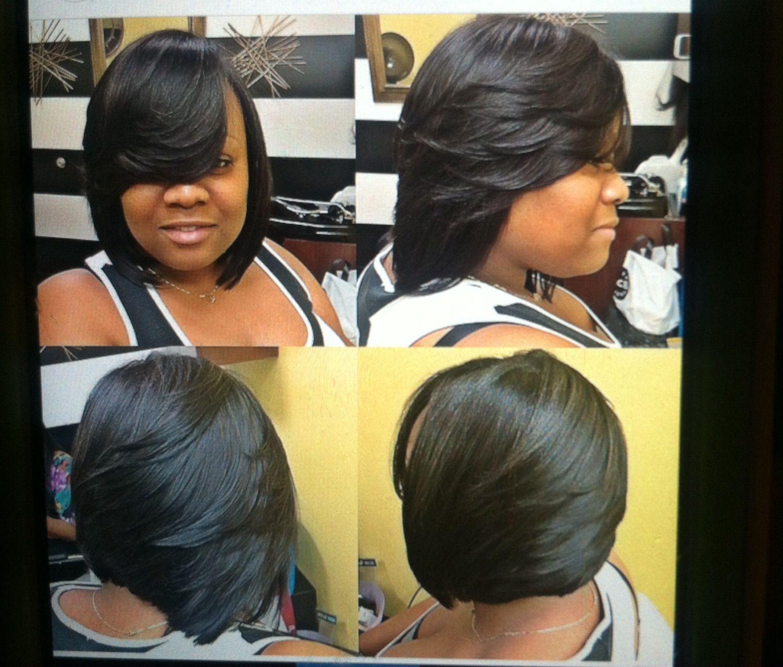 pin by tomiko craig on black hair matters   bob hairstyles