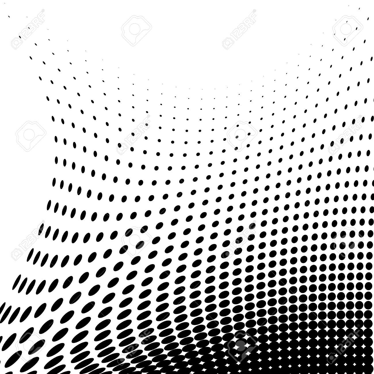 Stock Vector Halftone Dots Halftone Pattern Halftone Illustration