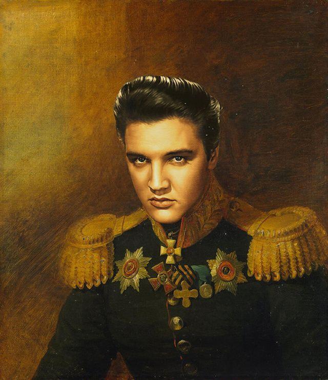 Néo-classicisme : les célébritiés en peinture