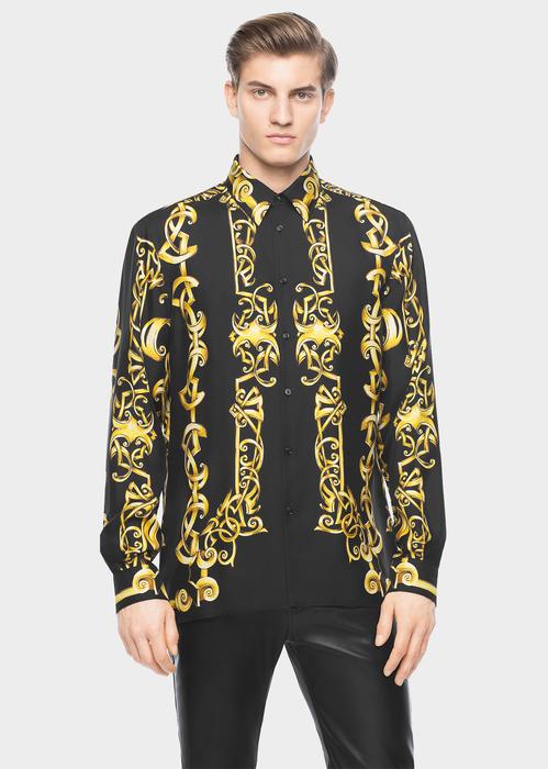 21ca63a8c VERSACE Barocco Heritage print shirt. #versace #cloth #barocco heritage  print shirt