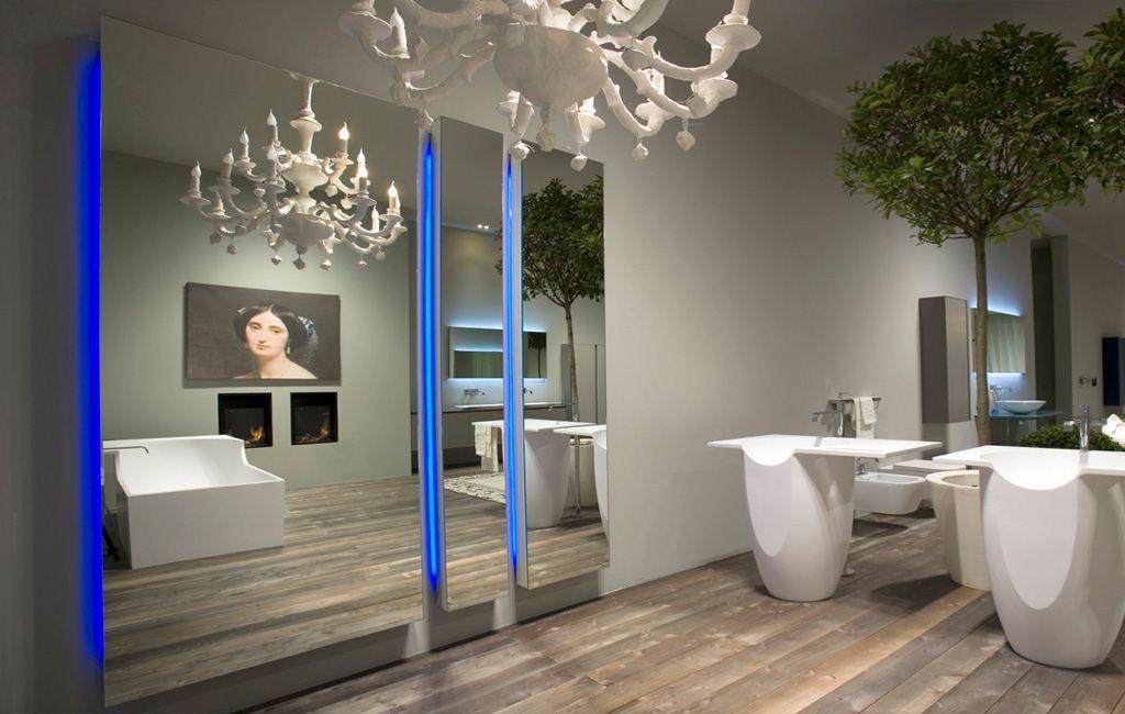 Bagno Legno E Mosaico : Mirrors and lamps: divo antonio lupi arredamento e accessori da