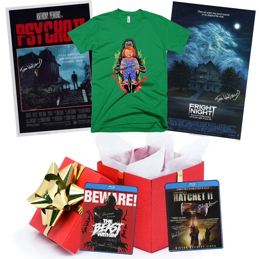 Great Xmas gift idea's for the horror fan in your life. www.thterrortime.com #horror