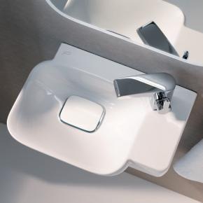 Keramag Myday Handwaschbecken B 40 T 28 Cm Hahnloch Rechts Weiss