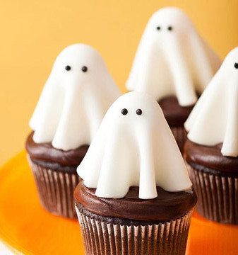 Ghost Cupcakes Recipe Cakes, Fondant and Craft stores