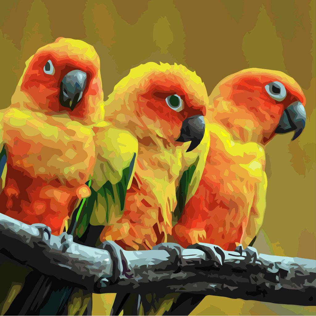 Vient De Peindre Cette Image Dans La Nouvelle Application De Peinture Schilder