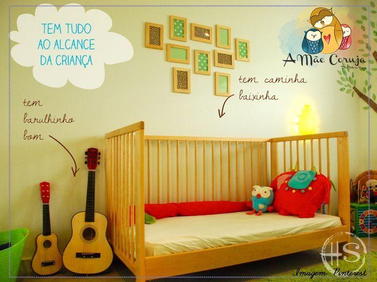 Método Montessori brincadeiras e quarto montessoriano