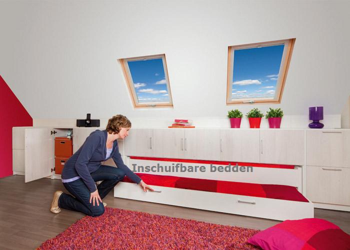 arnold siedsma het plexat systeem cre ren van een opbergruimte onder een schuin dak. Black Bedroom Furniture Sets. Home Design Ideas