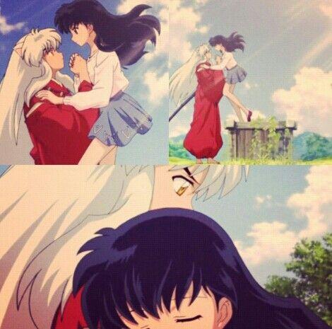 Inuyasha And Kagome Love 333 Inuyasha Inuyasha Love