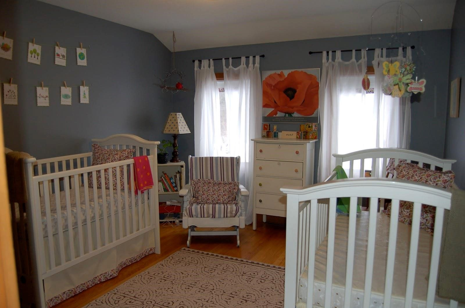 twin baby boy room ideas With images   Baby nursery ...
