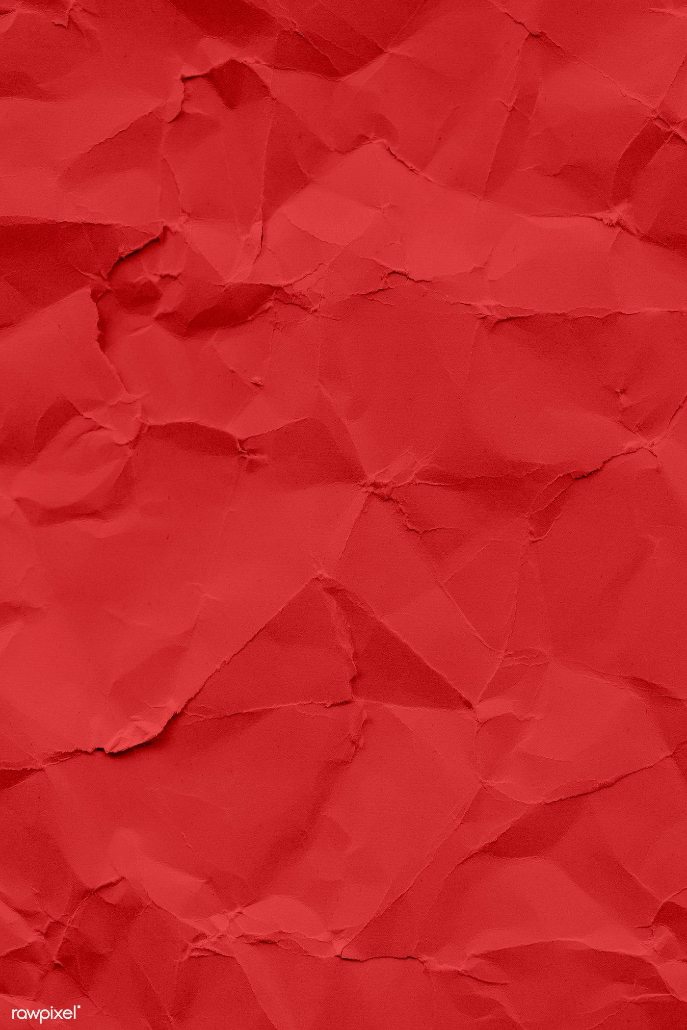 Download Premium Illustration Of Red Wrinkled Paper Pattern Background Red Texture Background Red Paper Texture Paper Background Texture