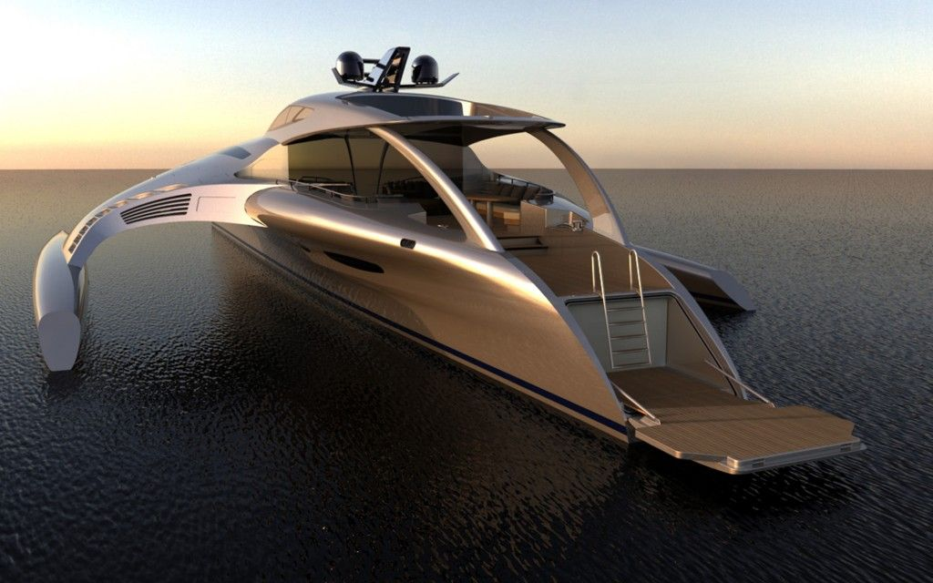 The Adastra Yacht - seriously......will NEVER see enough money for this toy