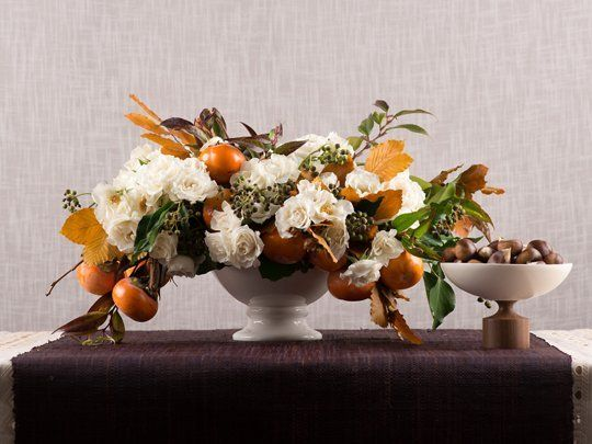 Thanksgiving Day DIY Project: Last-Minute Tips for Creating a Floral Centerpiece — Daily Candy