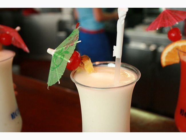 Pina Colada is the signature cocktail of Puerto Rico. Even more reasons to have this beautiful island on the bucket list. #PuertoRico #iGottaTravel