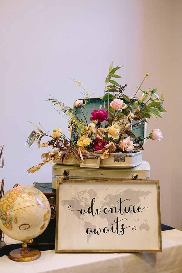20 Awesome Travel Themed Wedding Ideas Westbrook Wedding