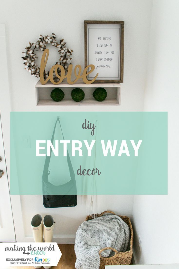 Diy Entryway Wall Decor For Small Spaces Moss Balls