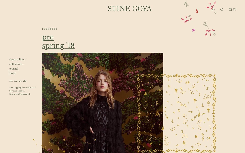 stine goya online