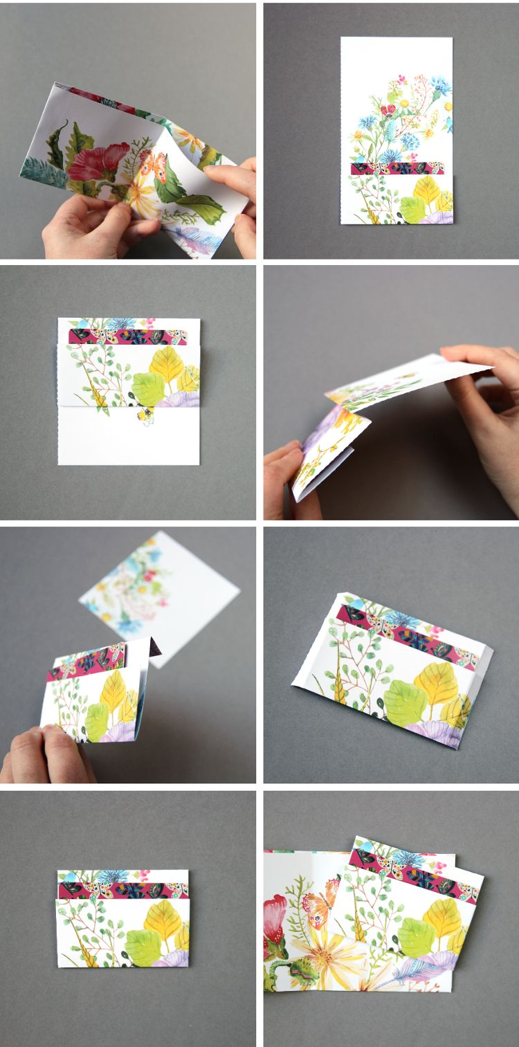 How to make a paper wallet 40