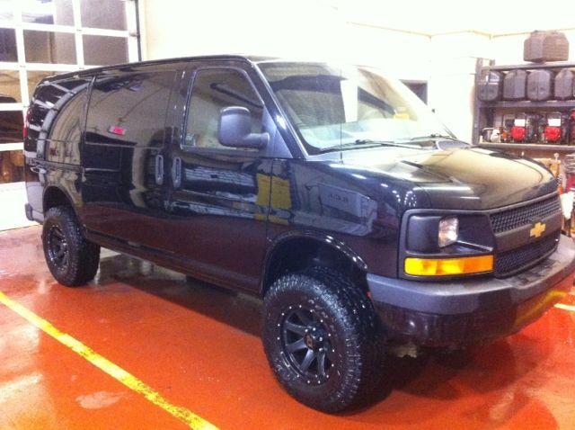 Idea By Seth Pickett On Dream Cars Chevrolet Van Chevy Van 4x4 Van