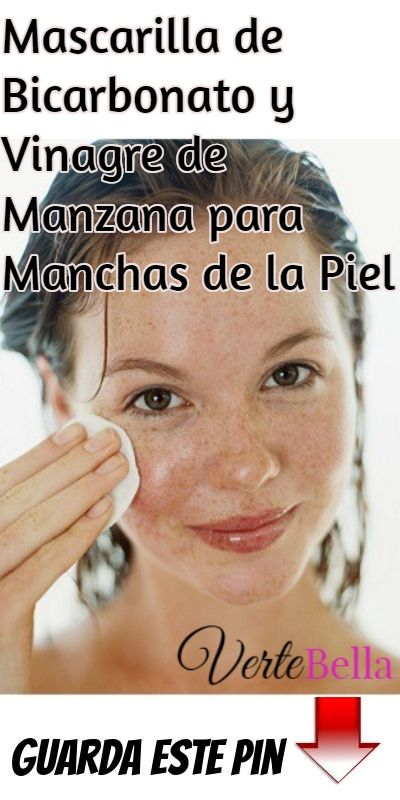 Mascarilla De Bicarbonato Y Vinagre De Manzana Para Manchas De La Piel Beauty Tips For Face Beauty Hacks How To Grow Eyebrows