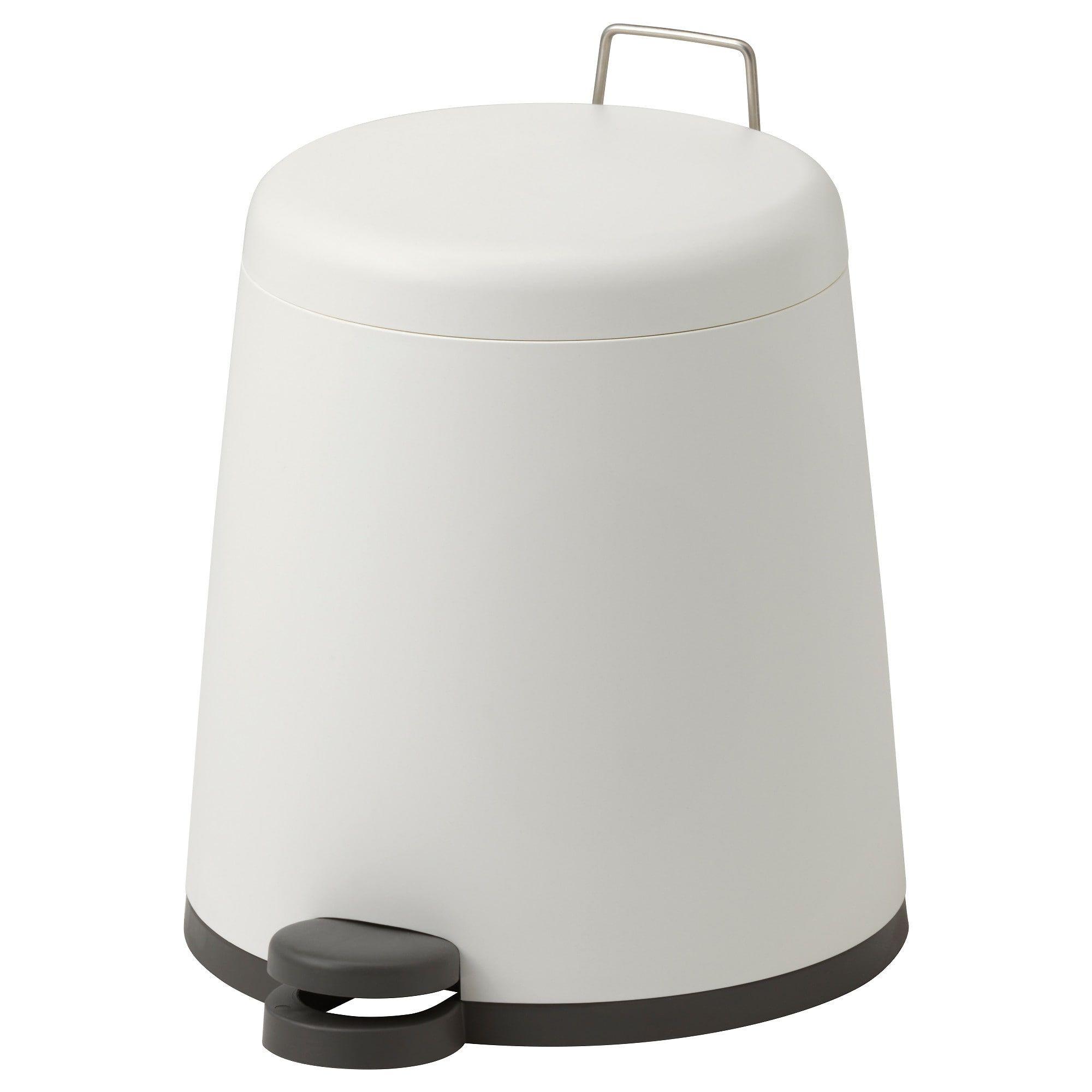 SNÄPP Treteimer weiß | Products in 2019 | Ikea badezimmer ...