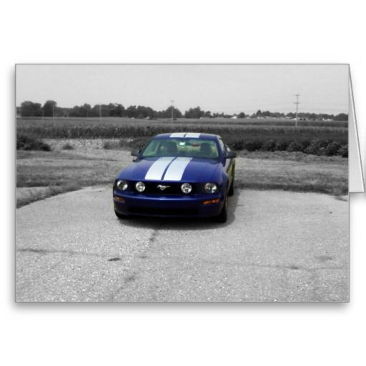 Muscle Car Happy Birthday Card Google Search Muscle Cars Galore