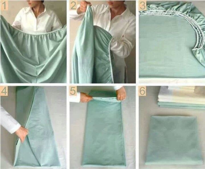 Fold A Fitted Sheet .. Why Are These So Hard To Fold?