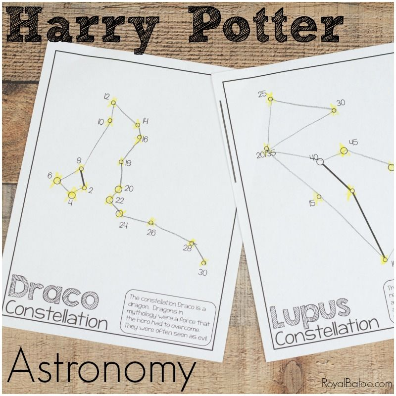 Photo of Harry Potter Astronomy with Constellations and Jupiter's Moons – Royal Baloo