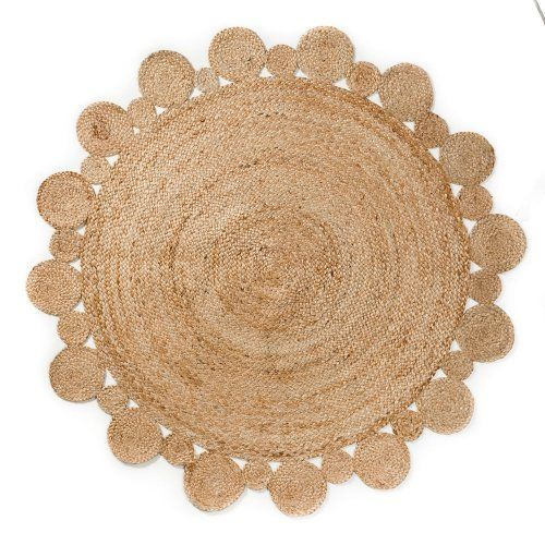Dog Urine Jute Rug: Home Republic Natural Rug Collection Round