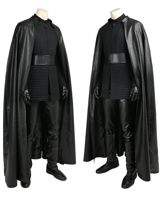 Star Wars 8 The Last Jedi Kylo Ren Cosplay Costumes Outfits Halloween