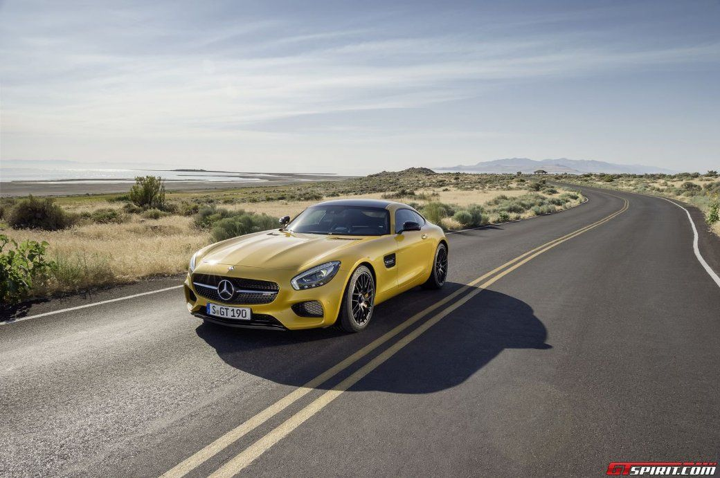 In 2014, the 2015 #Mercedes #AMG GT Nears Sold-out Status For 2015-2016