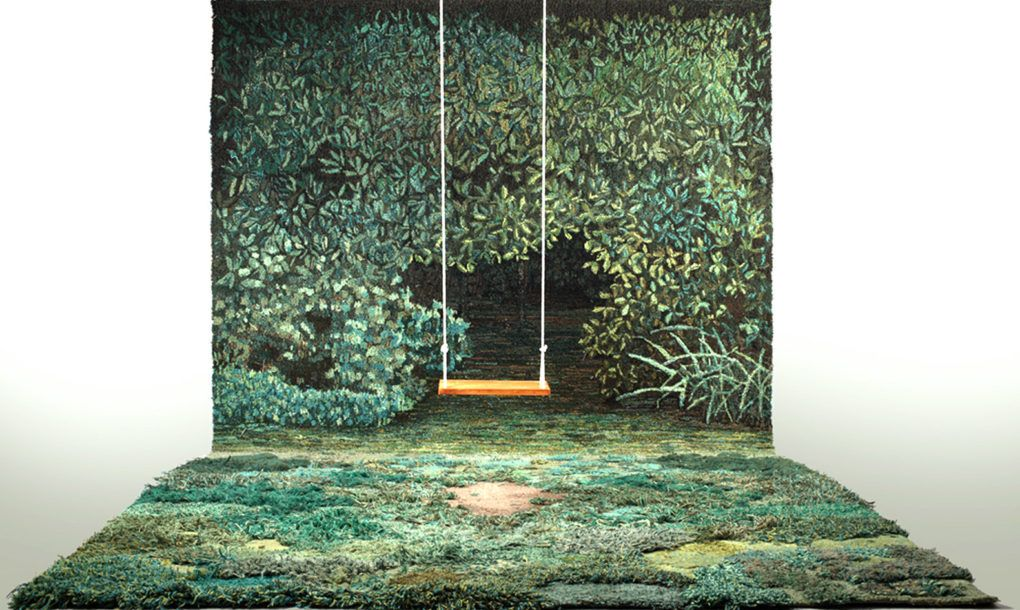 Amazing Landscape Carpets Transform Your Living Room Into A Lush Grassy Meadow Carpet Design Rug Design Decor