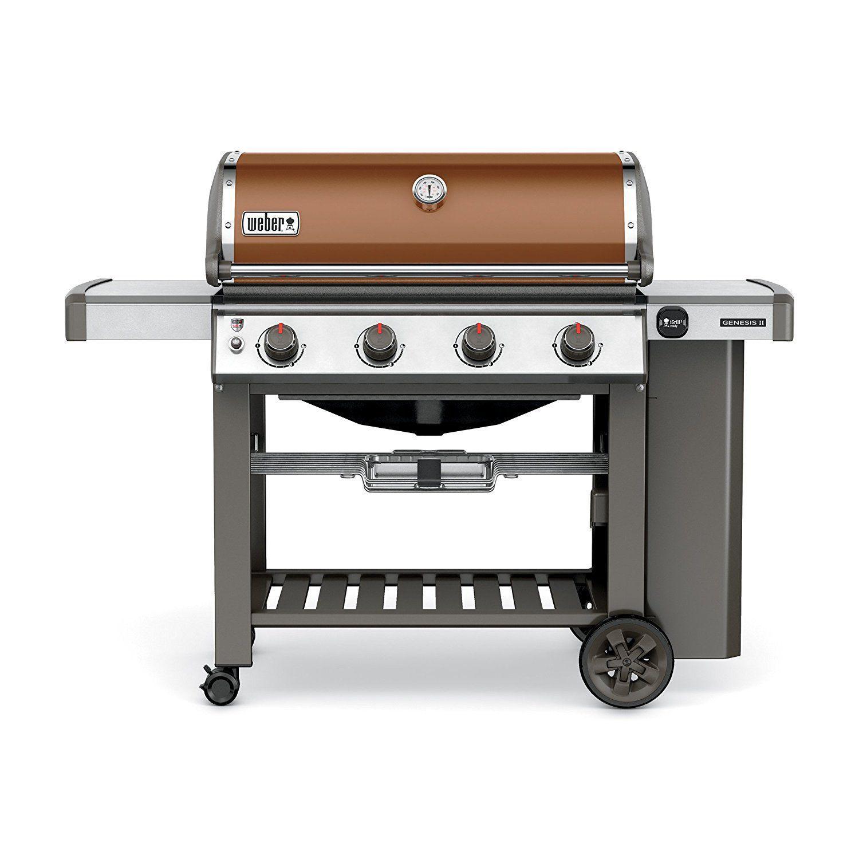 Weber 62010001 Genesis Ii E 410 Liquid Propane Grill Https Grilingidea Org Best Natural Gas Grills Under 1000 Barbecue Ideias Chamine