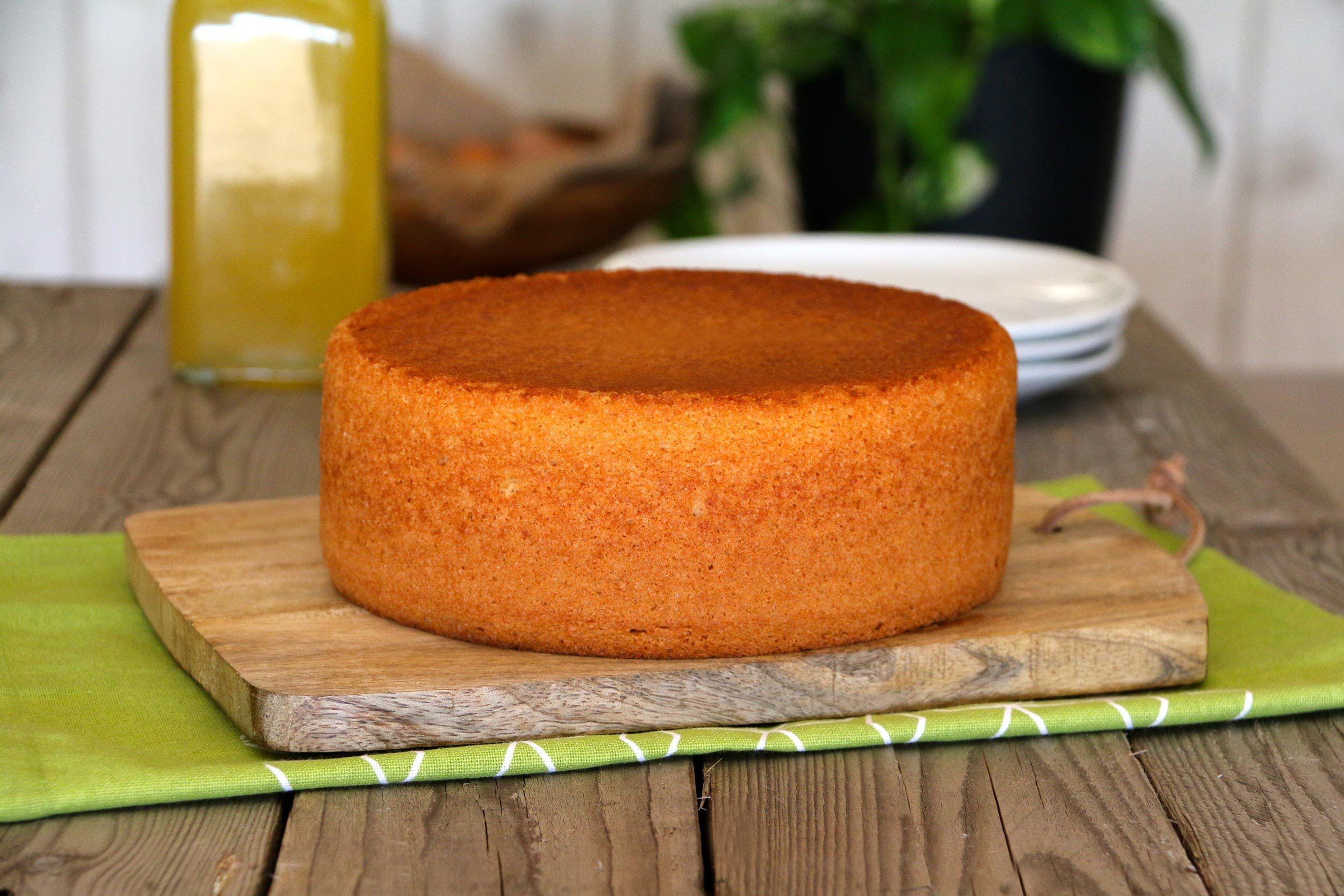 Bizcocho Genoves Perfecto Para Rellenar Receta De Biscocho Receta De Torta Torta De Dulces