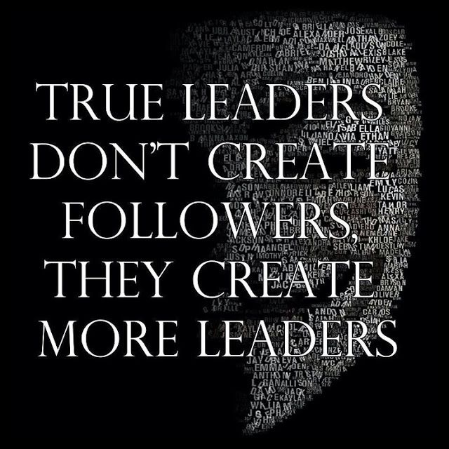 Leader Quotes Adorable True Leaders Don't Create Followers They Create More Leaders . Decorating Design