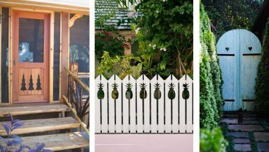 Country living - 34 adorably quirky  cut out ideas for fences and railings