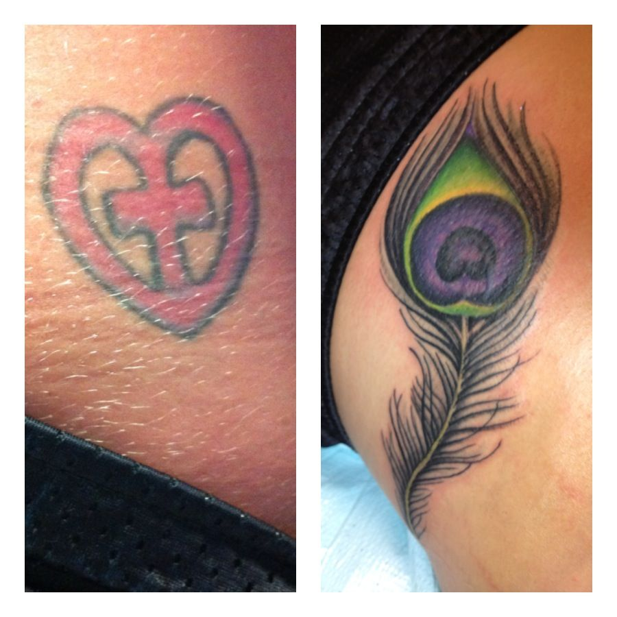 cover up tattoos work - before & after | Miss Toya\'s Board | Cover ...