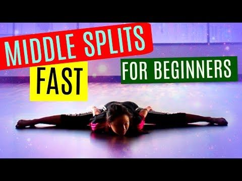 14 how to get middle splits fast for beginners
