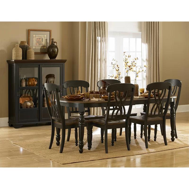 Blakely Solid Wood Dining Chair Em 2020 Mesa De Jantar