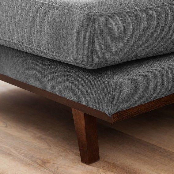 Canapé d'angle Billund I - Tissu | home24.fr