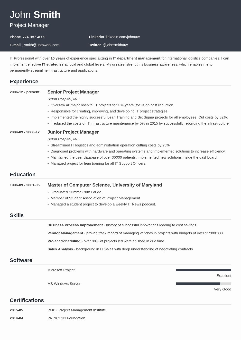 Professional Resume Template Free Fresh 20 Cv Templates