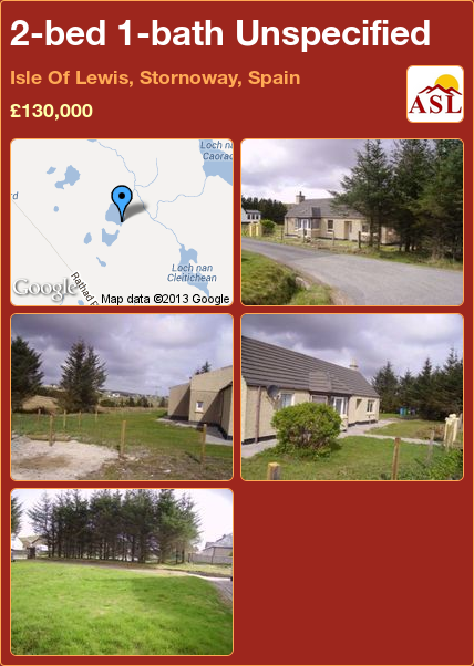 2bed 1bath Unspecified in Isle Of Lewis, Stornoway
