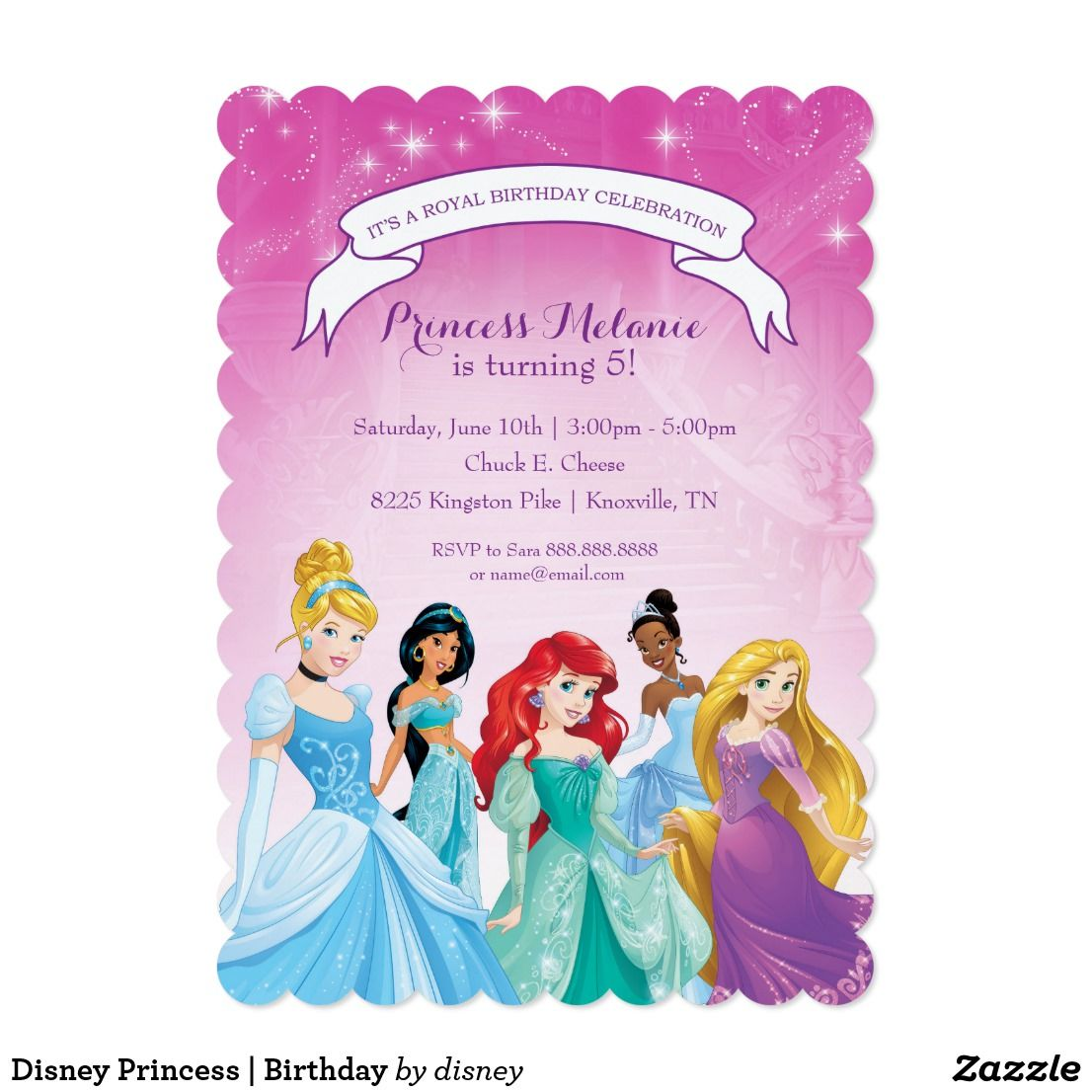 You can customize this card with your Birthday Princess\'s name! Love ...